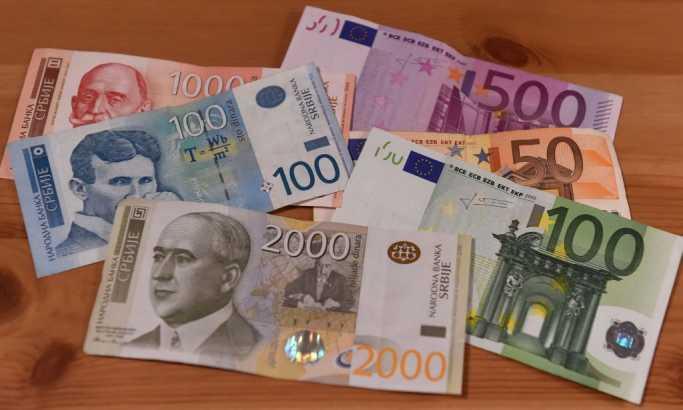Srednji kurs dinara 118,31