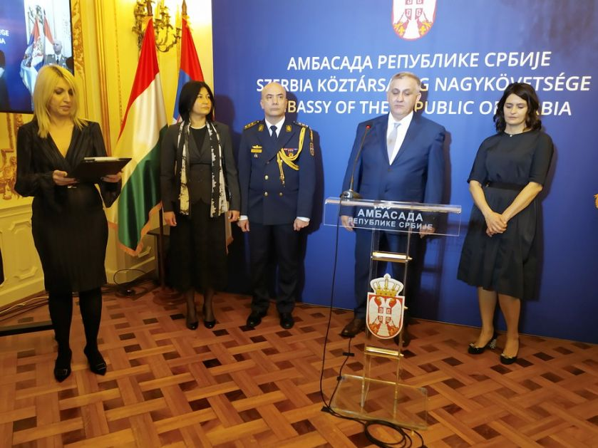 Sretenje: Prijem u srpskoj ambasadi u Budimpešti