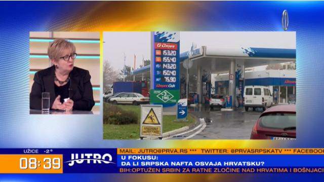 Srpska nafta zapljusnuće Hrvatsku VIDEO
