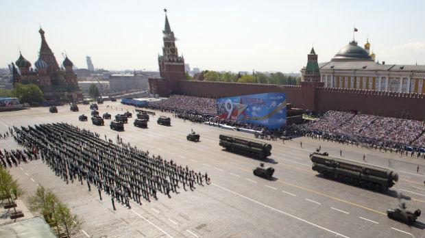 Sedamdeset pet srpskih vojnika na 75. Danu pobede u Moskvi