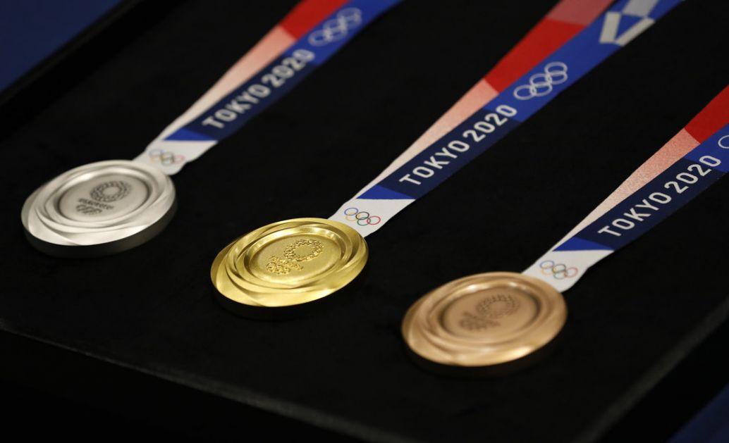 Srpskim sportistima u Tokiju za zlato 50.000 evra, srebro 45.000, bronzu 40.000
