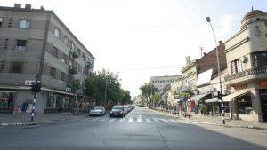 Srušio se zid stare Gradske tržnice u Kragujevcu