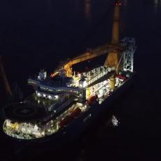 Šta će Nemci bez ruskog gasa? Brod ključan u izgradnji gasovoda isplovio nazad za Rusiju! (VIDEO)
