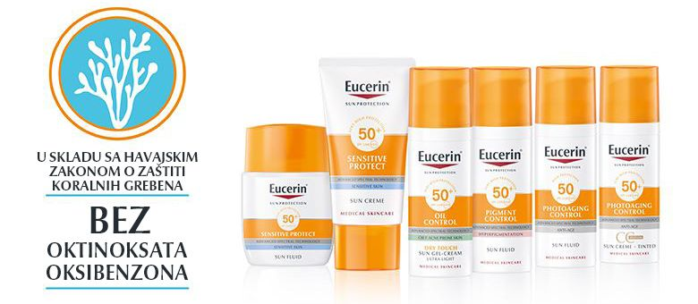 Šta nalaže Havajski zakon: Eucerin® zaštita od sunca štiti kožu, ali i čuva planetu