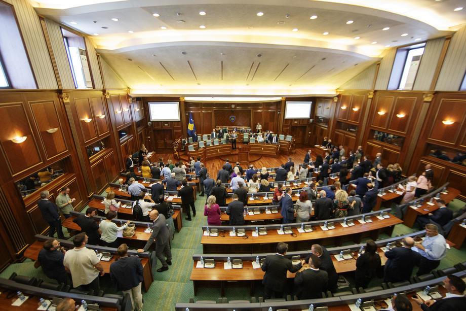 Zbog nedostatka kvoruma odloženo glasanje o zakonu o tzv. OVK