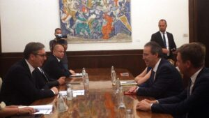 Šta se događalo iza kulisa posete visokog nemačkog zvaničnika Beogradu