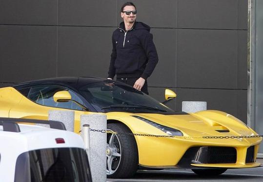 Šta vozi Ibrahimović u Milanu