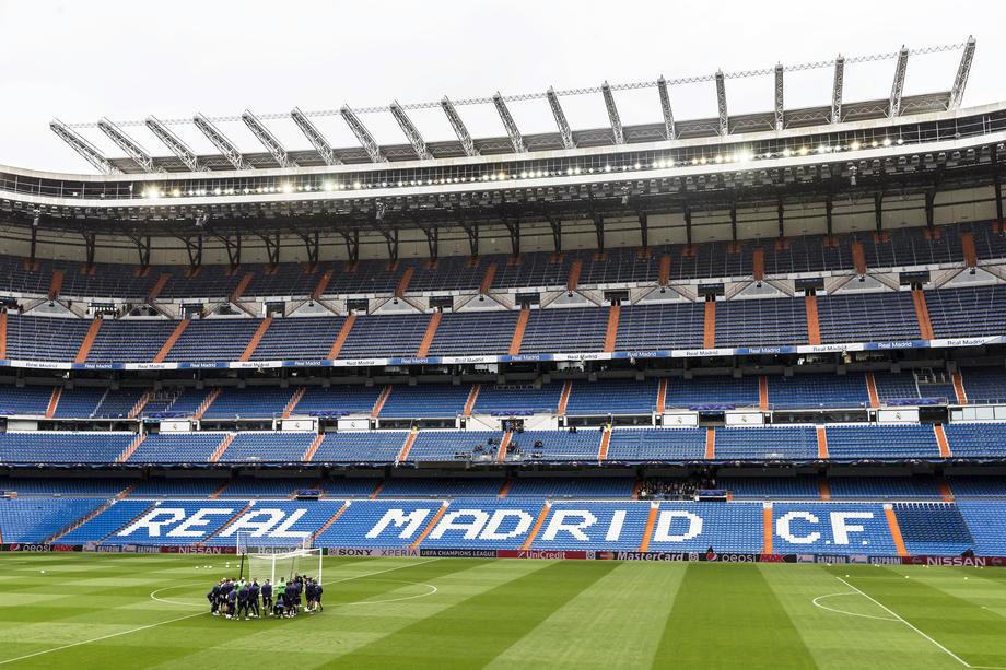 Stadion Reala postaje skladište medicinske opreme