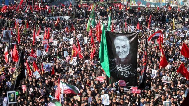 Stampedo na sahrani generala Solejmanija, poginulo najmanje 50 osoba