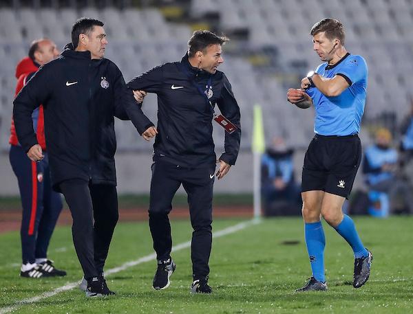 Stanojev bes usmeren ka Asanu i kako je Partizan tek na pola