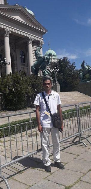 Stanojević pozvan u policiju, prekinuo štrajk glađu
