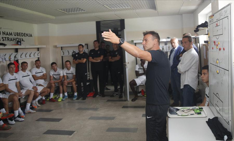 Stanojević pred Čukarički: Spremni smo za intenzivnu utakmicu