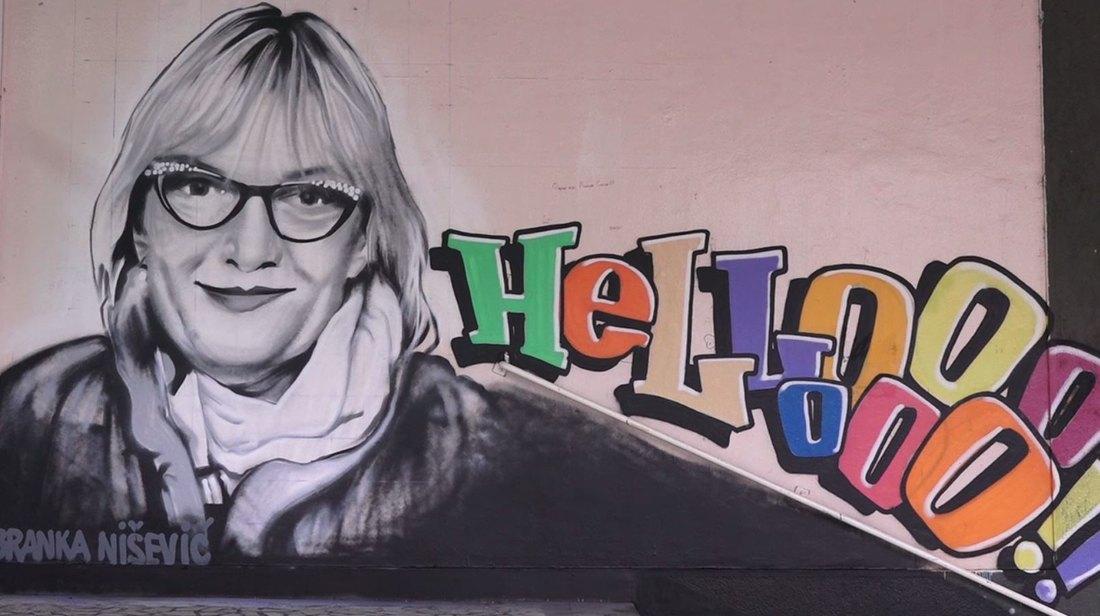 Stara Pazova: Omiljena profesorka dobila mural