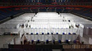 Štark Arena: Od 336 pacijenata u bolnici oko 300 na kiseoničnoj terapiji