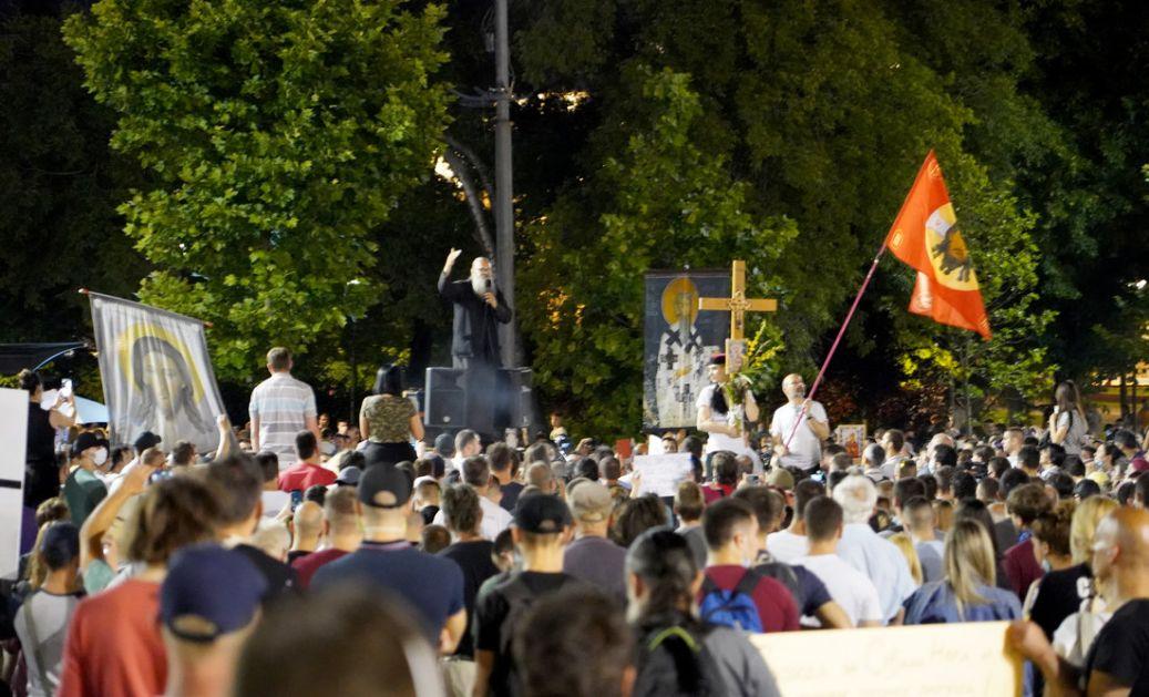 Stefanović: Nema nasilja, u Beogradu oko 1.100 ljudi,  380 u Novom Sadu
