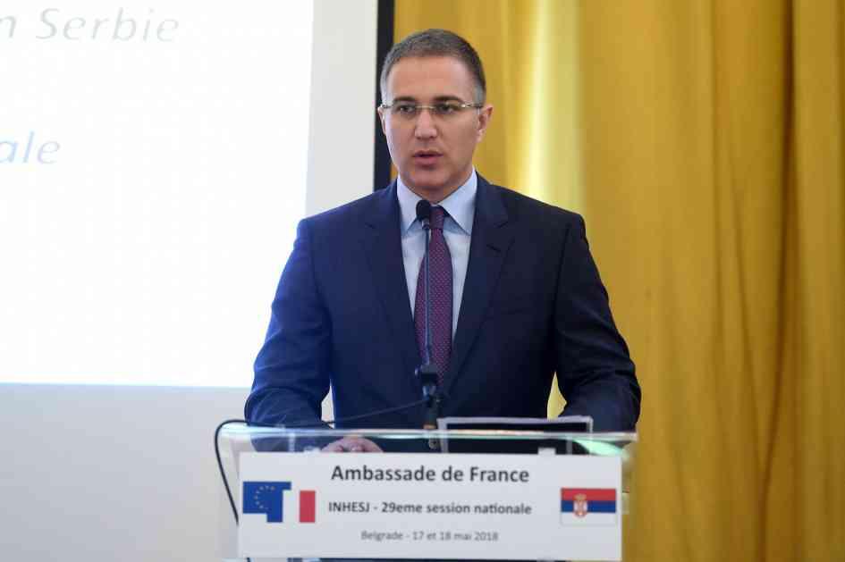 Stefanović: Odlična saradnja francuske i srpske policije