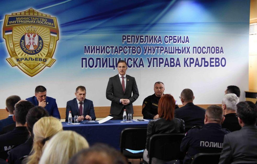 Stefanović: Odlučnom borbom protiv maloletničkog nasilja