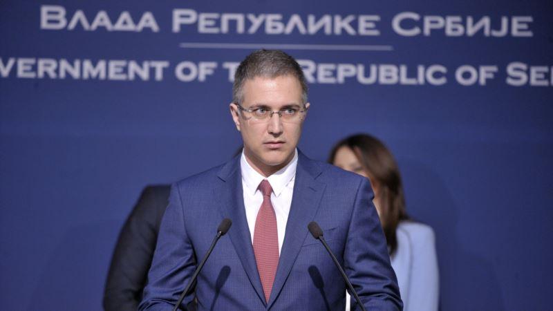 Stefanović: Pokušaj nasilnog preuzimanja vlasti