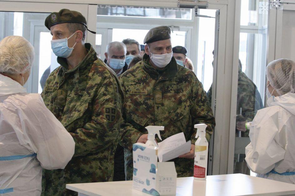 Vojska i policija u prvim redovima protiv korone: Vakcinisalo se 700 vojnika i 500 policajaca