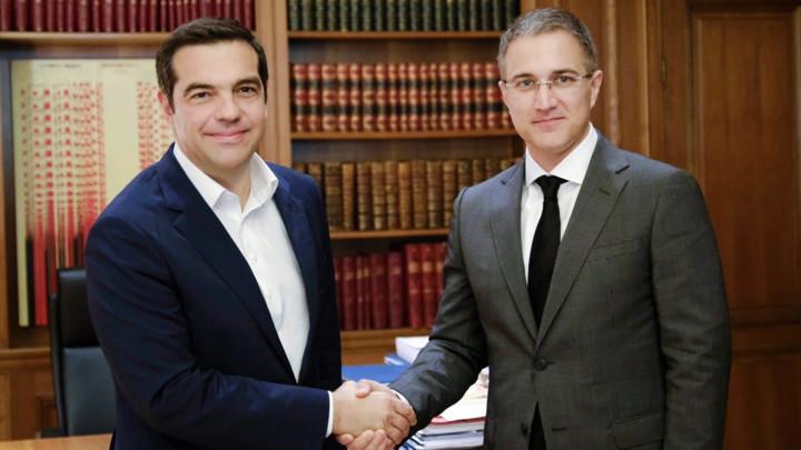 Stefanović i Cipras: Dobra saradnja Srbije i Grčke