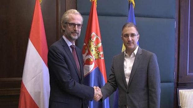 Stefanović i Luteroti o saradnji policija Srbije i Austrije