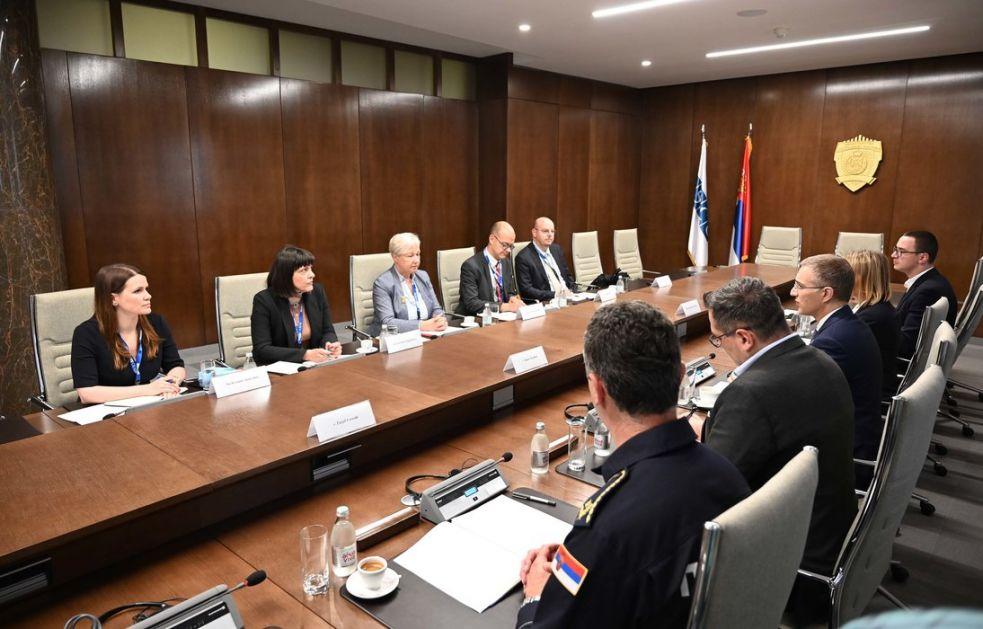 Stefanović sa ODHIR-om: Zadovoljstvo što će ptatiti izbore