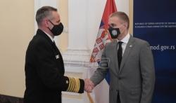 Stefanović sa komandantom Združenih snaga NATO o saradnji i situaciji na Kosovu