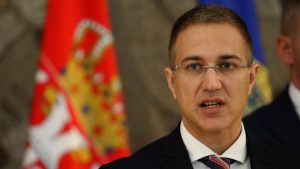Stefanović sa sekretarom Saveta bezbednosti Azerbejdžana