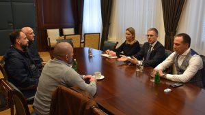 Stefanović sa veteranima razgovarao o obuci mladih policajaca