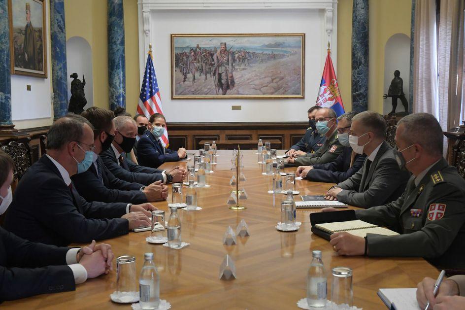 Stefanović se sastao sa delegacijom Kongresa SAD