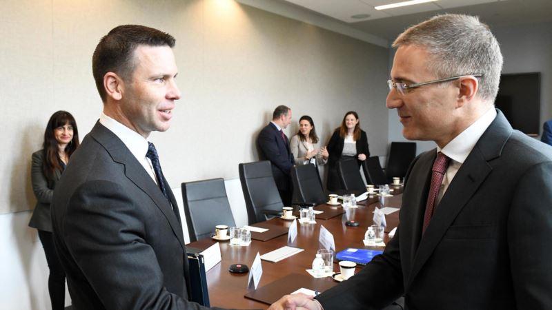 Stefanović u Vašingtonu sa sekretarom za unutrašnju bezbednost SAD