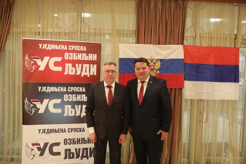 Stevandić i Kalabuhov razgovarali o aktuelnom stanju u Republici Srpskoj i BiH