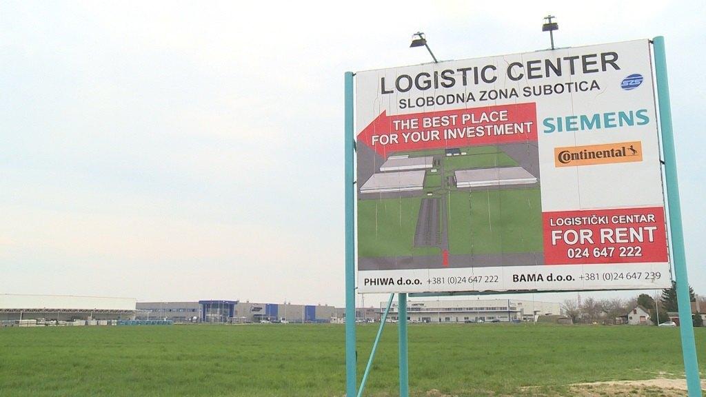 Za industrijske zone 300 miliona dinara