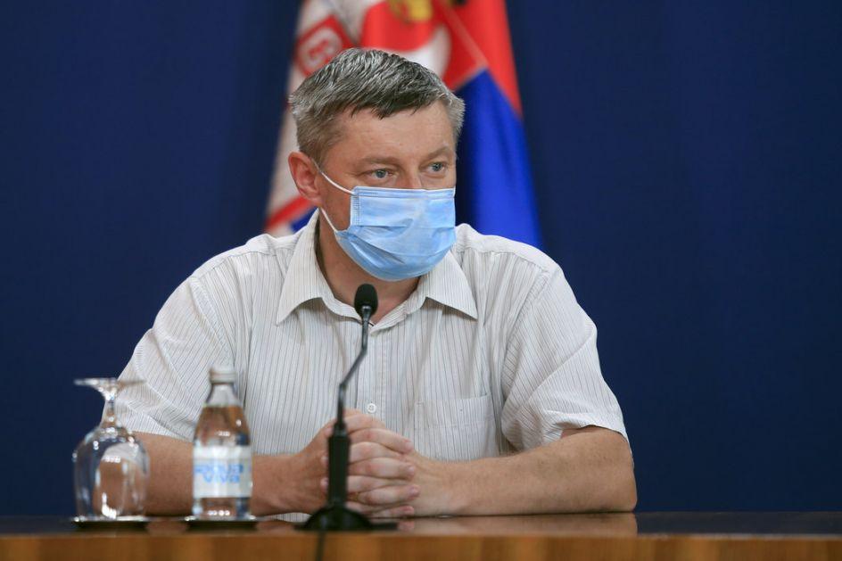 Stevanović: Situacija povoljnija, ne sme biti opuštanja