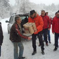Stigao prvi deo pomoći Privredne komore Srbije ugroženim građanima na jugu Srbije