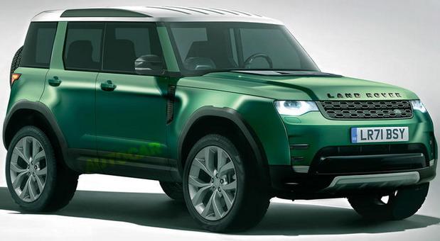Stiže i mali Land Rover