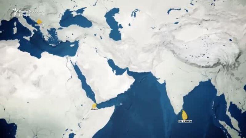 Što povezuje Džibuti, Šri Lanku i Crnu Goru?