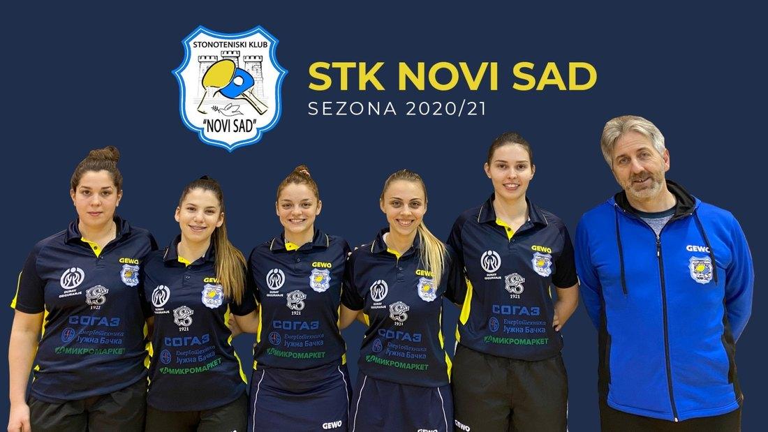Stonoteniserke Novog Sada osvojile četvrtu uzastopnu titulu