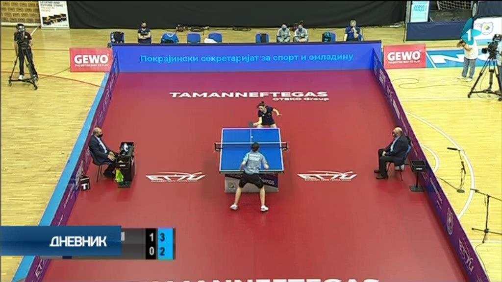 Stonoteniserke Novog Sada u polufinalu Kupa Evrope