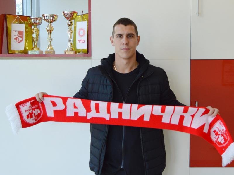 Štoper Darko Lazić stigao u Radnički