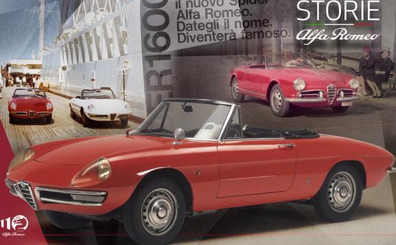 """""""Storie Alfa Romeo"""" 6. epizoda: Duetto, italijanski pauk osvaja Holivud"""