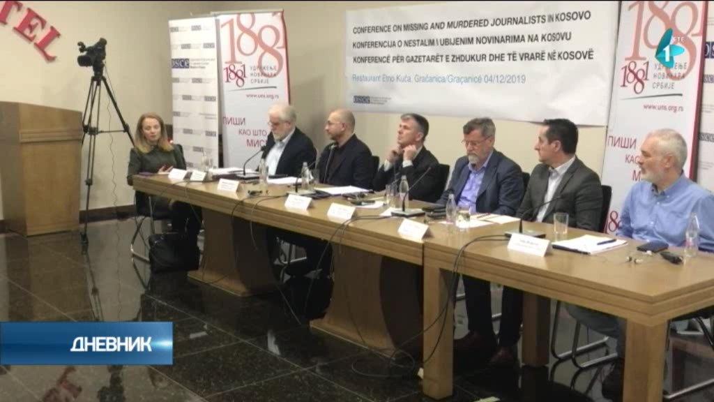 Stradanje novinara na Kosovu i Metohiji