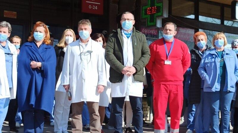 Štrajk upozorenja radnika Doma zdravlja u Bihaću