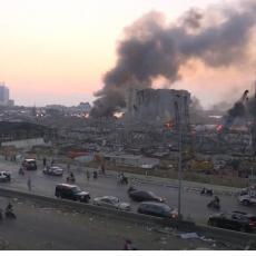 Stravične scene u Libanu! Pojavio se snimak nakon eksplozije: Sve je sravnjeno sa zemljom! (VIDEO)