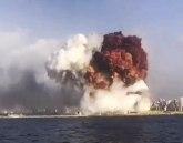 Stravični snimci u trenutku eksplozije: Dete u ruke i pod sto VIDEO