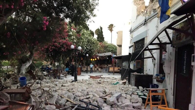 Stručnjaci procjenjuju štetu od snažnog zemljotresa u Grčkoj