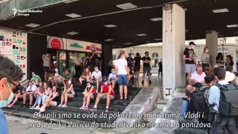 Studenti protiv zatvaranja domova