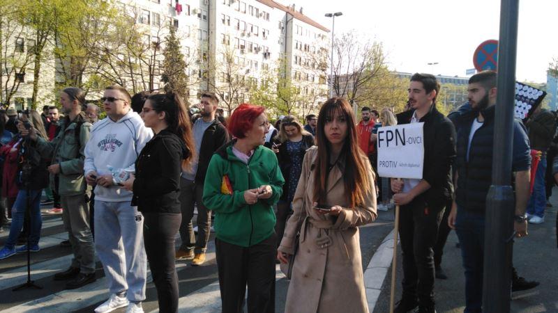 'Studentski marš' u Beogradu
