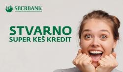 Stvarno super keš kredit Sberbanke