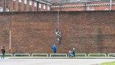 Stvoriti bekstvo: Benksi potvrdio da je on naslikao sliku na zidu bivšeg zatvora
